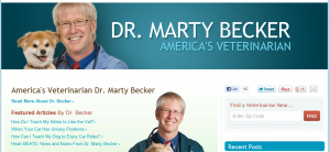 veterinarian Dr. Marty Becker