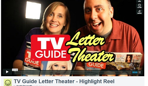 Personal Brand Alison Flierl of TV Guide Letter Theater