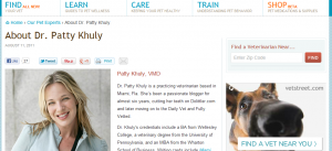 Dr. Patty Khuly blog