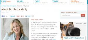 Dr. Patty Khuly blog